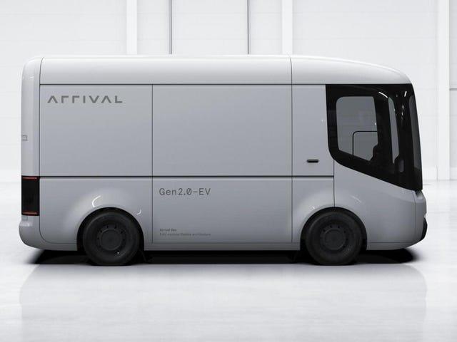 Hyundai da $ 110 millones a la entrega de la empresa de furgonetas de reparto eléctrico