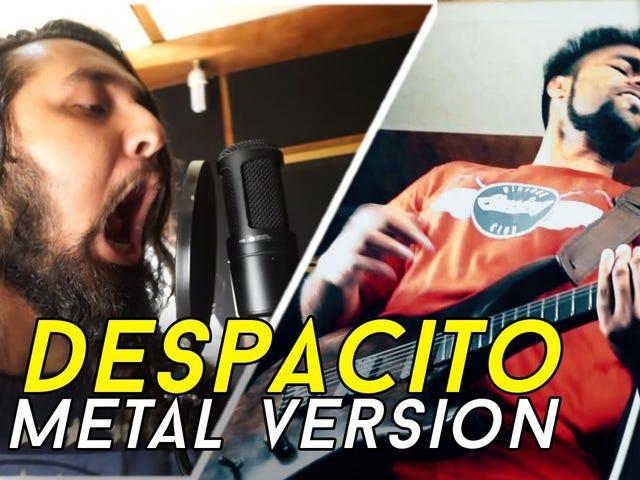 DESPACITO - LUIS FONSI ft. DADDY YANKEE | METAL VERSION