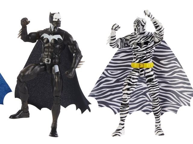 Mattel's Comic-Con Batman Exclusives Include Some Very Colorful Action Figures