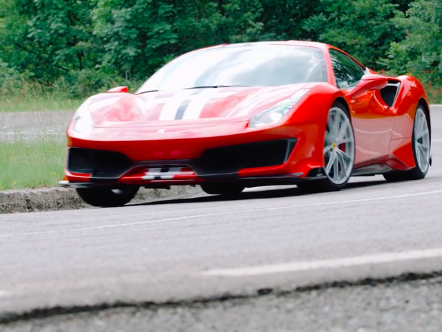 The Ferrari 488 Pista Is Almost Too Fast to Drive but Too Good Not To