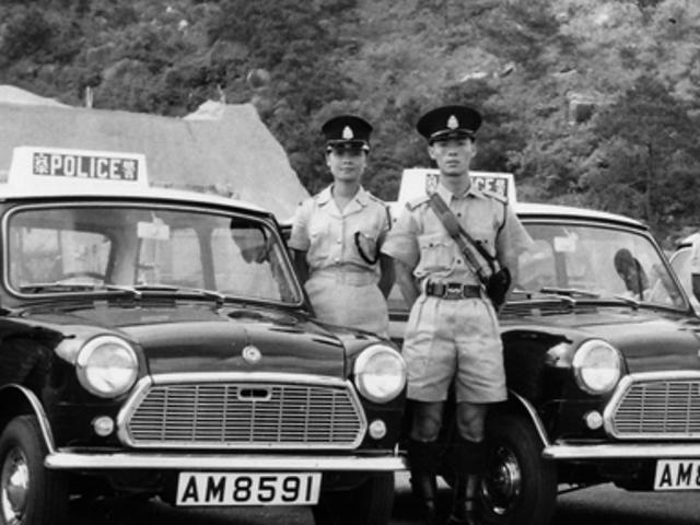 1960年代の香港の警察車