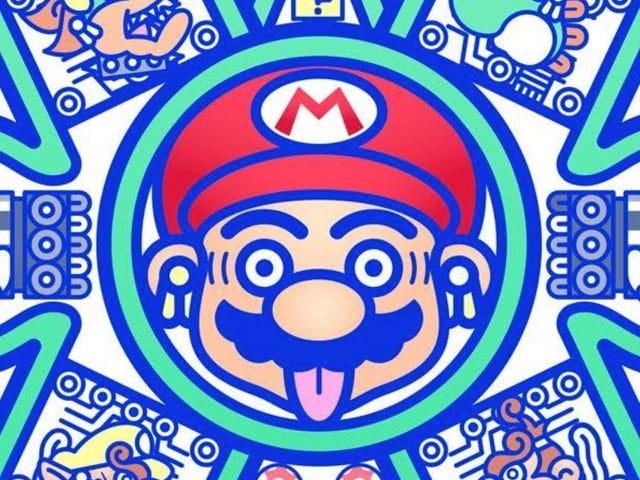 Celebrate Some Super Mario Milestones With a Slew of Trippy Artwork