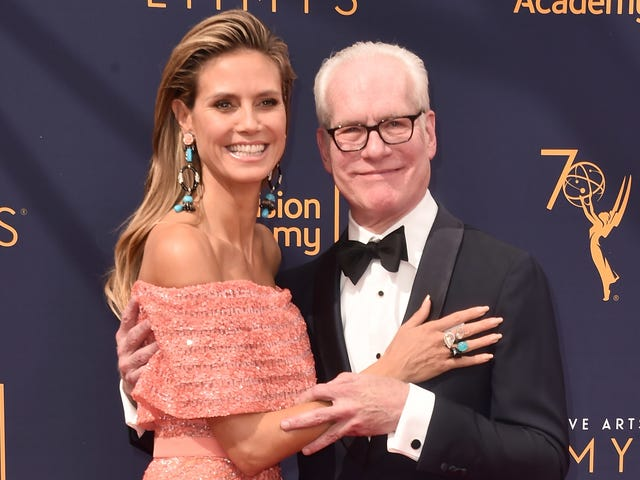 Heidi Klum on Leaving Lifetime With Tim Gunn: Project Runway 'Was Our Baby'