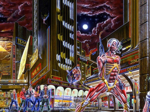 Iron Maiden Is Suing The Video Game Ion Maiden