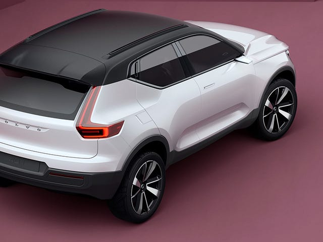 The Volvo 40 Concepts: Meet The Sexy Compact Electric Future Of Volvo