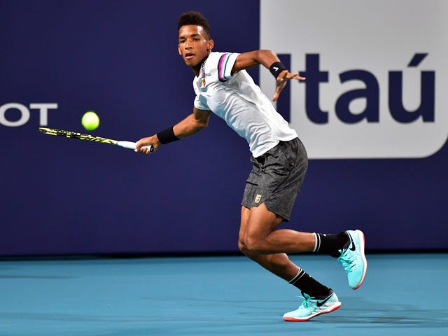 Tennis Wunderkind Félix Auger-Aliassime Is Ready To Face The Best