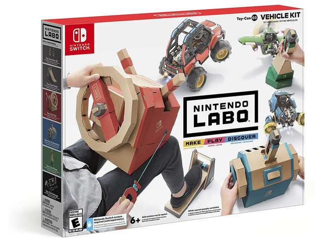 Should You Get Your Kid the Nintendo Labo Vehicle Kit?