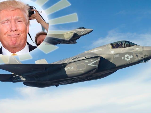 F-35 A 'Great Plane' Nu, tak til præsident Trump