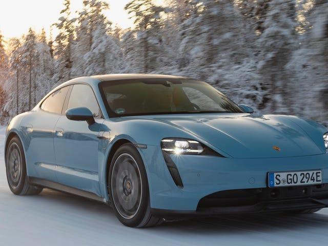 Porsche está compitiendo con Tesla hasta que digan que no