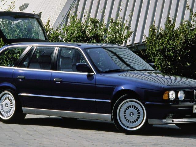 Ο Άρχοντας των Wagons είναι ένα BMW E34 M5 Με το V12 Από ένα McLaren F1