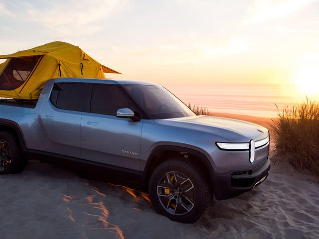 These Are the Cars Rivian Is Benchmarking Its Electric Pickup Against