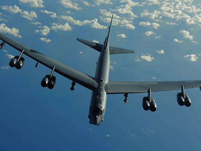 The B-52 May Get Tricked Out With Laser Weapons