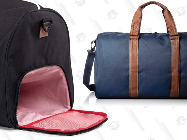 Pack All Of Your Holiday Travel Gear In These ~$60 Herschel Duffels