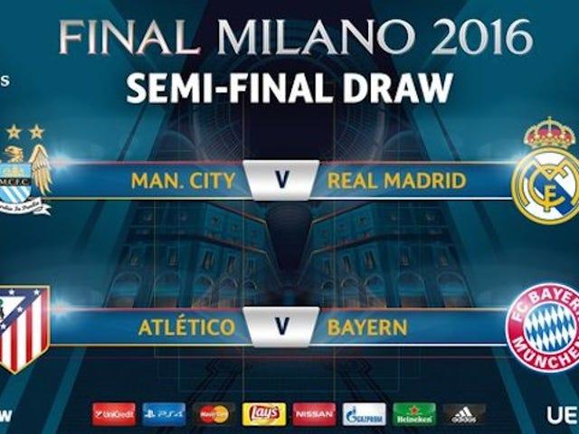 Ecco la Semifinale della Champions League