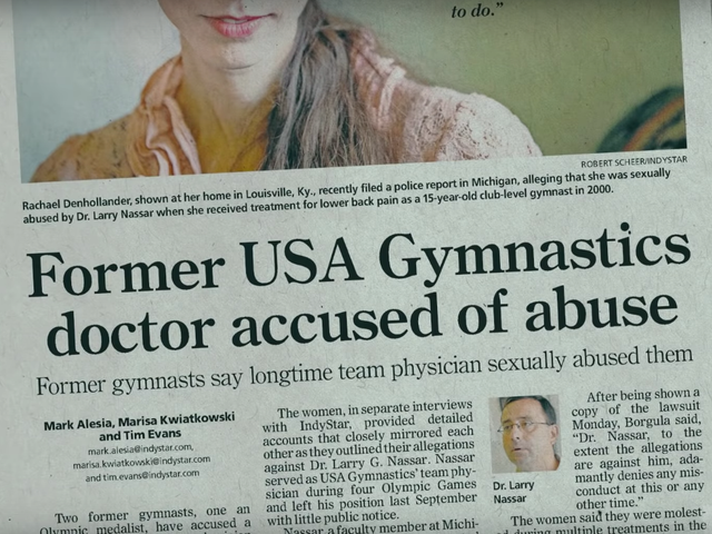 Director Erin Lee Carr On Her Gymnastics Abuse Documentary At the Heart of Gold
