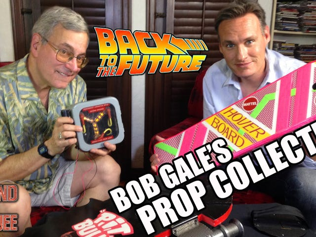 Stop Drooling and Check Out This Crazy Collection of Back to the Future Props