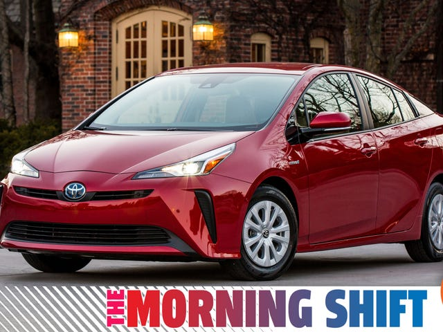 Toyota Isn't Quitting on the Prius Just Yet