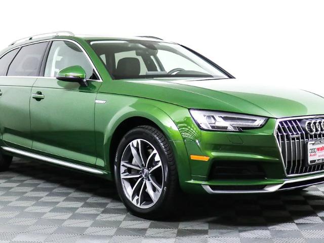 ฉันรู้สึกแย่กับ Audi Allroad รุ่นใหม่สีเขียวเมทัลลิค