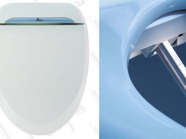 Treat Your Tush To This Water and Seat-Heating Electric Bidet