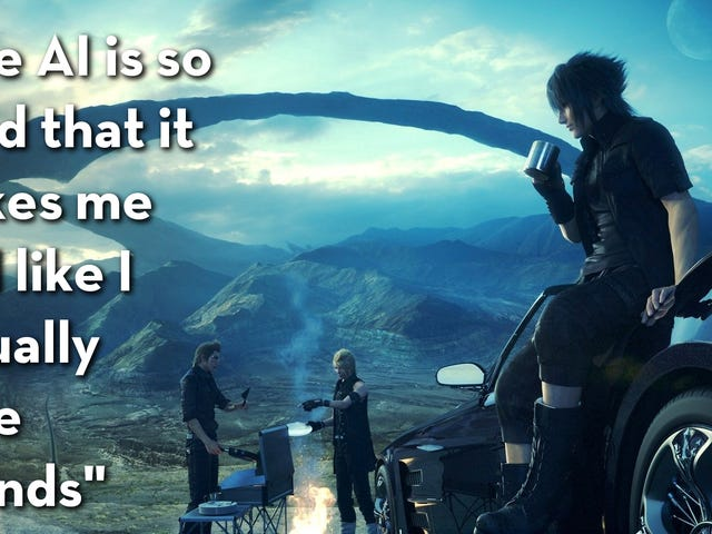 Final Fantasy XV, As Told By Steam Reviews