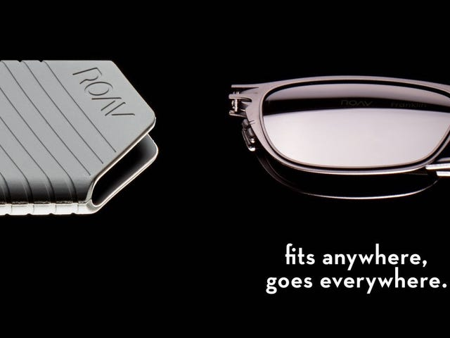 ROAV Eyewear Delivers Pocketable Folding Sunglasses, Finally