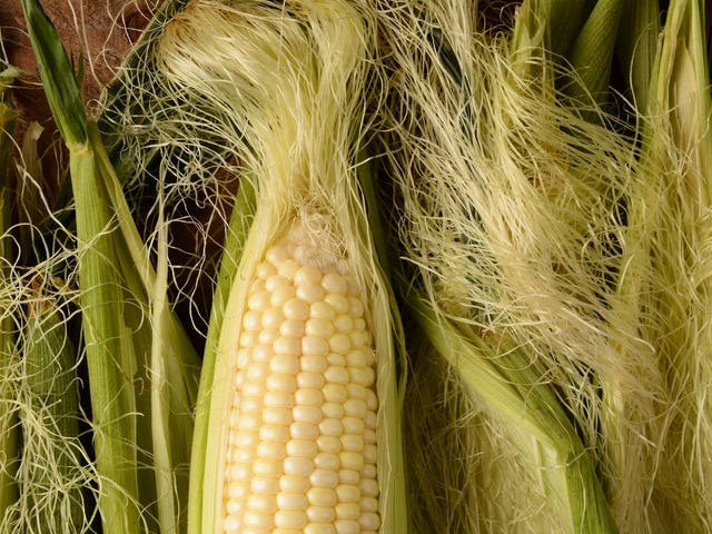 How do you remove the dang silk off corn? Don't even bother.