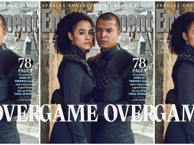 Kan vi få en Spinoff?  EW&#39;s <i>Game of Thrones</i> Tribute Tribute har oss som ønsker mer svart kjærlighet på jerntronen