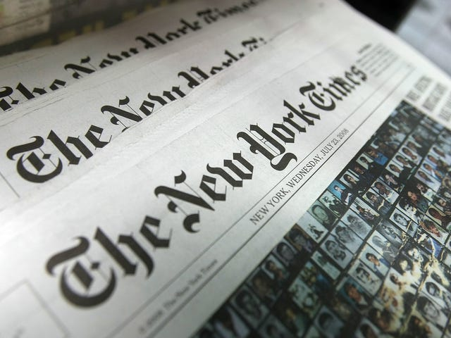 New York Times Demotes Bad Tweet Machine Jonathan Weisman