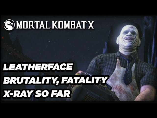 Leatherface's Mortal Kombat Fatality Doesn't Go Far Enough