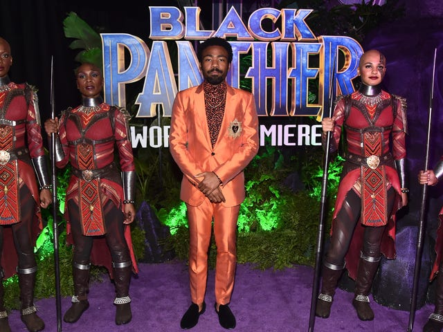 Donald Glover Is One of the Reasons Why Marvel's Black Panther Is So Funny