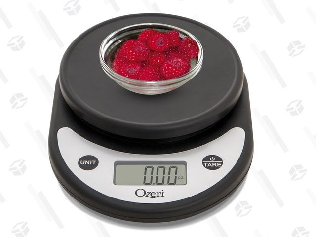 Your Kitchen Needs A Scale, And This One Is Just $10