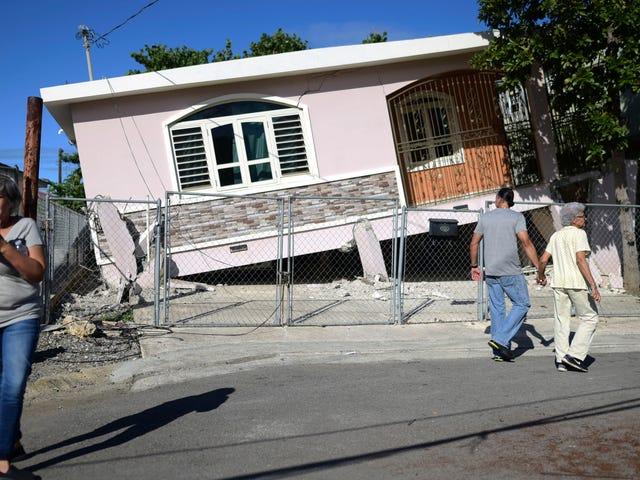Jordskjelv viser hvor skjør Puerto Rico sitt elektriske nett fremdeles er