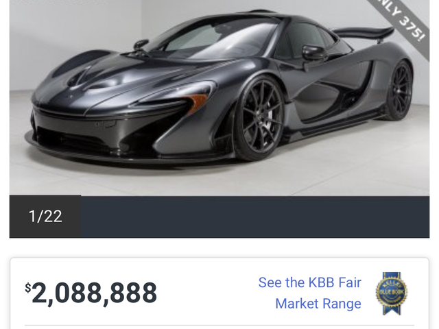 What's the most expensive car on Autotrader within 25 miles of you?