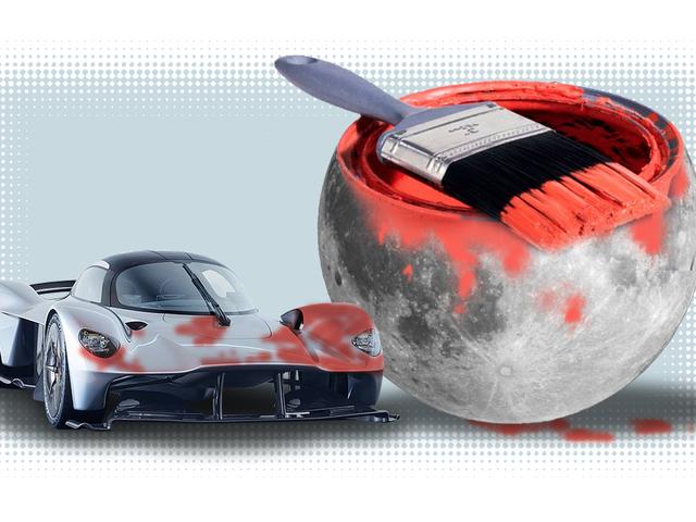 Κάποιος τύπος σχεδιάζει να ζωγραφίσει τον Aston Martin Valkyrie με «Σκόνη Σελήνης» και έχω πολλές ερωτήσεις