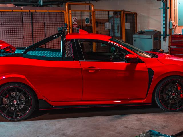 Les ingénieurs Honda ont construit une camionnette Honda Civic Type R et maintenant j'en ai besoin