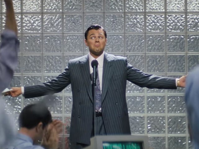 The real Wolf Of Wall Street is accusing the producers of scamming, which is perfect
