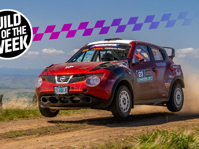 America's Most Delightfully Absurd Rally Car Is This Nissan Juke