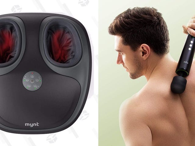 Unwind After Work With Deals On Mynt's Electric Massagers