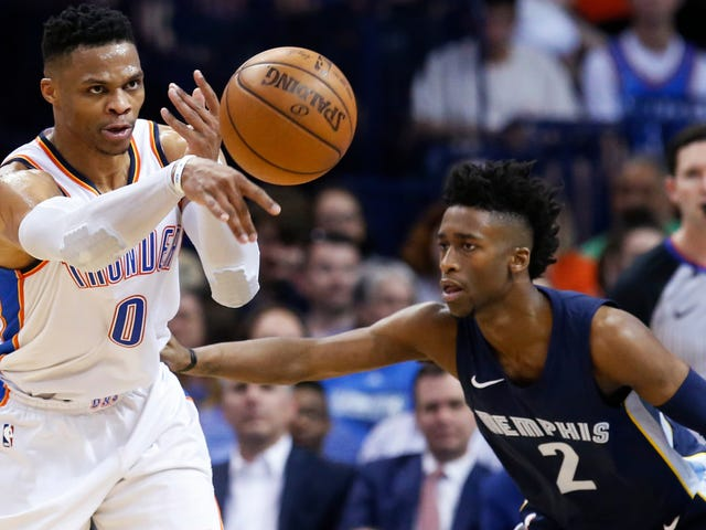 Russell Westbrook Gets Another Triple-Double Season With An Appropriately Nuts Statline