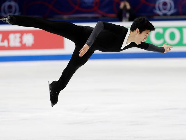 Nathan Chen Wins Men's Figure Skating World Title