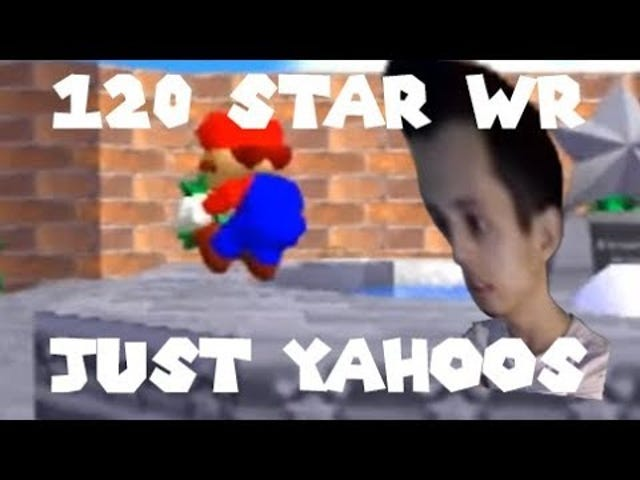 Someone re-cut the video for speedrunner Cheese's world record 120 star time in Super Mario 64down
