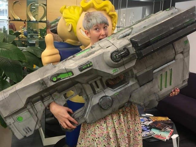 A Real-Life Version of Doom's BFG Reveals Just How Gigantic It Really Is