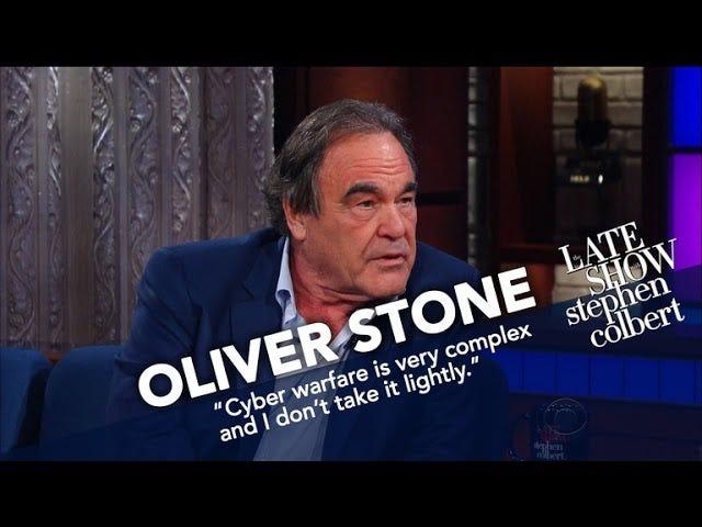 Oliver Stone on vain onnellinen Vladimir Putin oli mukava viettää 20 tuntia hänen kanssaan