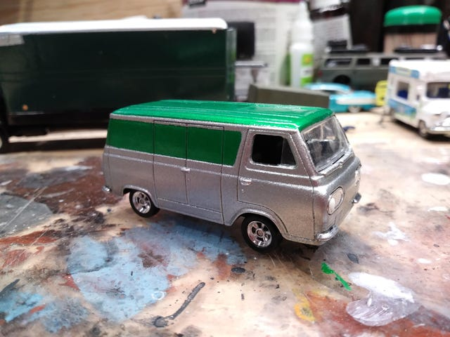 Another Custom Van.