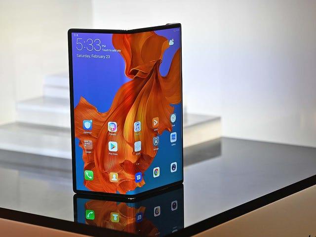 Huawei tar sin egen böjande skärm med den böjda maten X