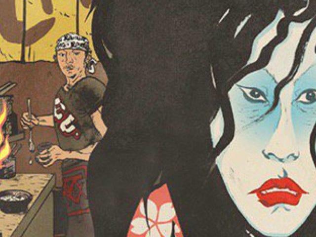 버티고의 카렌 버거 (Karen Berger)는 앤서니 부르다 인 (Anthony Bourdain) 만화