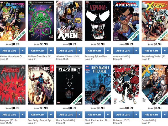 Start a New Comic Series For $1 With This Marvel First Issue Sale
