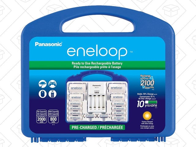 Start Your Eneloop Collection With The Power Pack, Now $5 Off