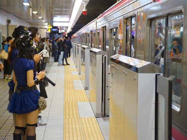 Japan's Infamous Halloween Trains