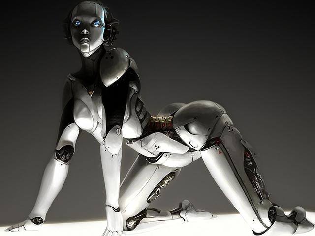 Sexo con robotter: du er meget glad for at du har en perfekt oplevelse.